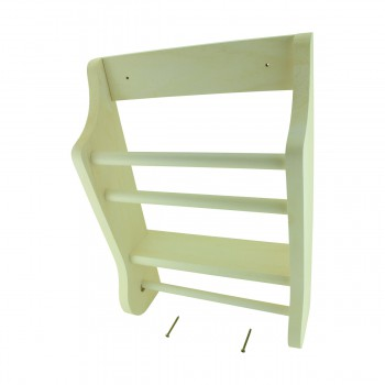 <PRE>Solid Wood Tissue Holder &amp; Magzine Rack 17.5&quot;H Made In USA </PRE>