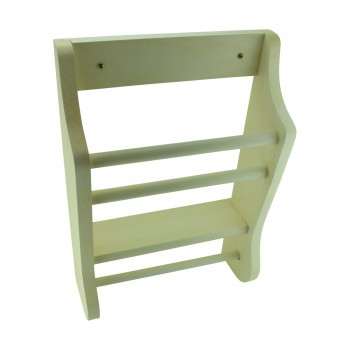 <PRE>Solid Wood Tissue Holder &amp; Magzine Rack 17.5inchH Made In USA </PRE>zoom3