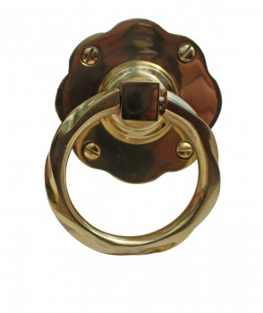 <PRE>Gate Latch Solid Brass Classic Knob Set with Pull </PRE>zoom5