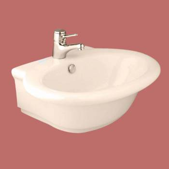 <PRE>Bathroom Vessel Sink Bone China Faucet Hole </PRE>