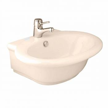Bathroom Vessel Sink Bone China Faucet Hole 10766grid
