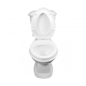 <PRE>Dual Flush Toilet White Porcelain Elongated Two-Piece Toilet</PRE>zoom5