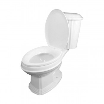 <PRE>Dual Flush Toilet White Porcelain Elongated Two-Piece Toilet</PRE>zoom6