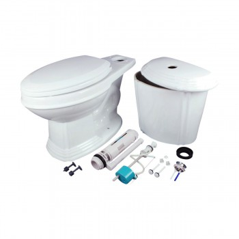 <PRE>Dual Flush Toilet White Porcelain Elongated Two-Piece Toilet</PRE>zoom9