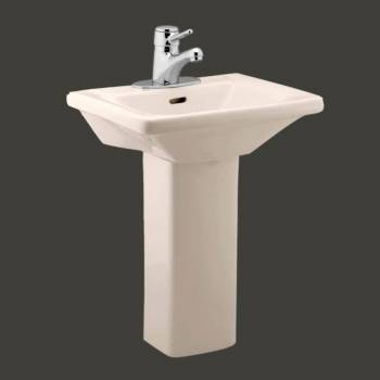 Wee Wash Child-size Pedestal Sink  Bone - Floor Heat Registers, Aluminum, steel, wood and brass Floor heat registers info & free shipping by Renovator's Supply.