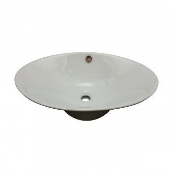 <PRE>Bathroom Vessel Sink White Porcelain Capello </PRE>zoom3