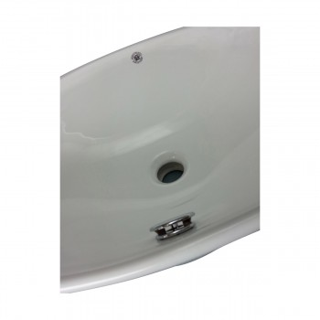 <PRE>Bathroom Vessel Sink White Porcelain Capello </PRE>zoom7