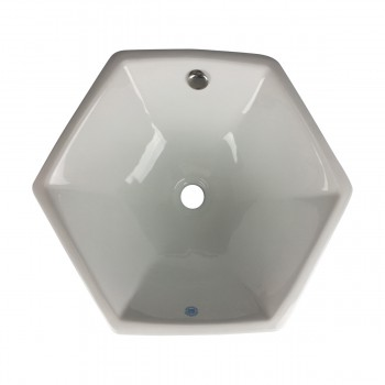 Langsworth White  Vessel Sink - Corner sinks, corner sink info & unique corner accessories, quantity discounts on corner toilets, corner pedestal sinks, corner wall mount sinks, corner console sinks, counter top corner sinks, corner counter top sinks, glass corner pedestal sinks, corner cabinets, corner bathroom fixtures, corner bathroom sinks, corner sink faucets & free shipping by Renovator's Supply.