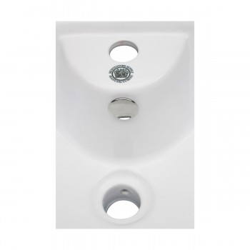 <PRE>White Bathroom Vessel Basin Sink Bowl Above Counter Square with Overflow </PRE>zoom8