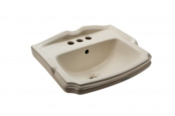 <PRE>Bathroom Sink Small Bone China Cloakroom 19inch Wall Mount </PRE>zoom5