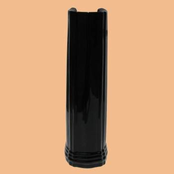 <PRE>Bathroom Sheffield Deluxe Corner Pedestal ONLY Black China </PRE>zoom2