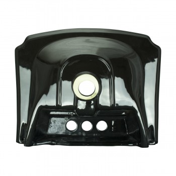 <PRE>Small Wall Mount Sink Black Bathroom Basin 19inch </PRE>zoom6