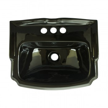 <PRE>Small Wall Mount Sink Black Bathroom Basin 19inch </PRE>zoom8