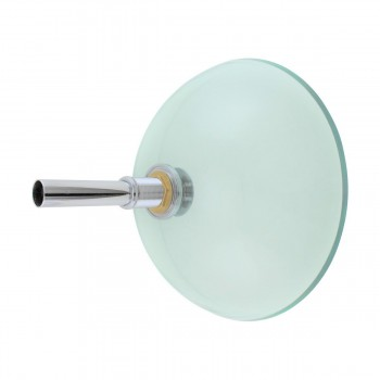 <PRE>Clear Tempered Glass Vessel Sink Round Bowl Stain Resistant Chrome Pop-Up Drain</PRE>zoom4