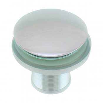 <PRE>Clear Tempered Glass Vessel Sink Round Bowl Stain Resistant Chrome Pop-Up Drain</PRE>zoom5