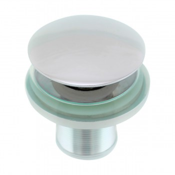 <PRE>Clear Tempered Glass Vessel Sink Round Bowl Stain Resistant Chrome Pop-Up Drain</PRE>zoom6
