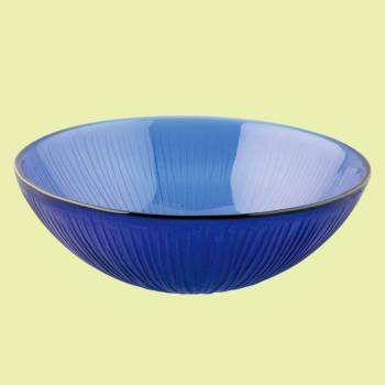 Glass Sinks - Branch - Frosted Blue Glass Vessel Sink - Round by the Renovator's Supply