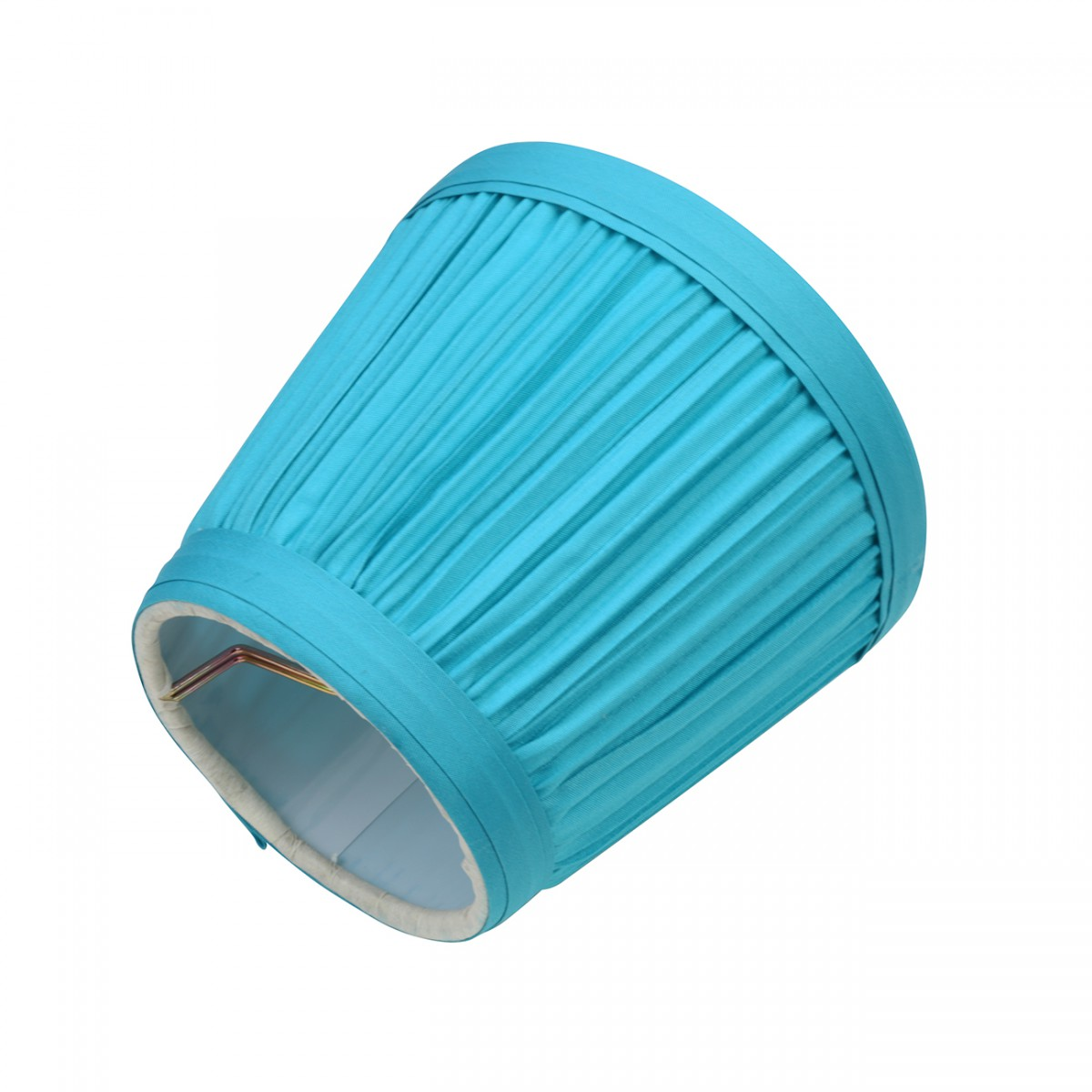 Lamp Shade Blue Fabric 4 116 Mini Clip On Clip On Lamp Shades Small Blue Clipon Lamp Shade Candelabra Lamp Shade