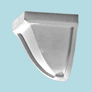<PRE>Crown Molding Corner Block Divider White Urethane 3&quot; </PRE>