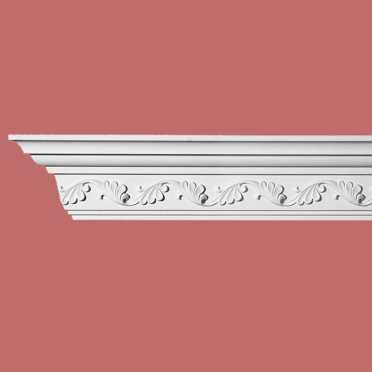 Cornice White Urethane Sample of 10984 23.5 Long Cornice Cornice Moulding Cornice Molding