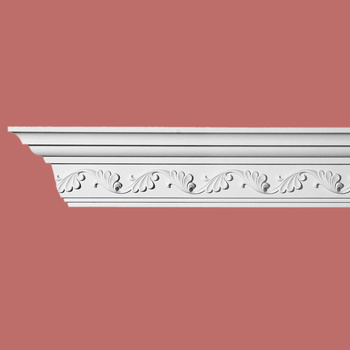 <PRE>Cornice White Urethane Sample of 10984 23.5inch Long </PRE>zoom3