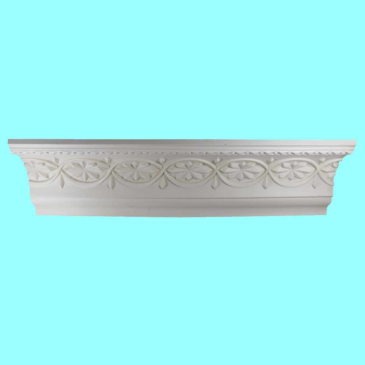 Cornice White Urethane Sample of 10986 23.5 Long Cornice Cornice Moulding Cornice Molding
