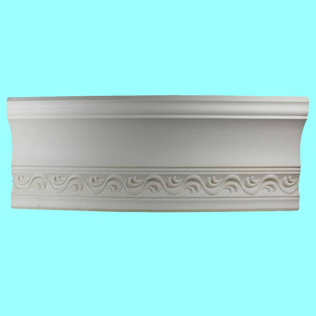 Cornice White Urethane Sample of 10987 23.75 Long Cornice Cornice Moulding Cornice Molding