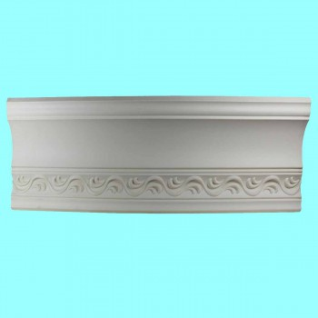 <PRE>Cornice White Urethane Sample of 10987 23.75inch Long </PRE>zoom6