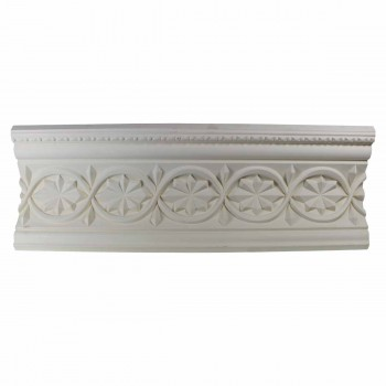 <PRE>Ornate Cornice White Urethane 4 1/2inchH Chantelle </PRE>zoom1