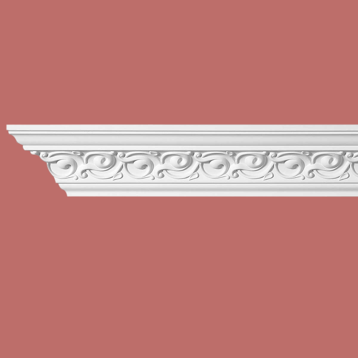 Cornice White Urethane Sample of 10989 23.5 Long Cornice Cornice Moulding Cornice Molding
