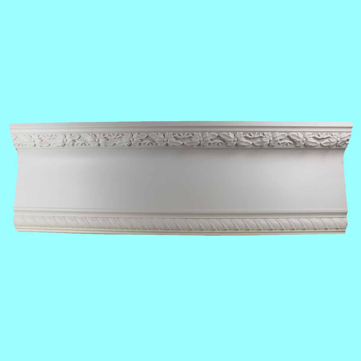 Cornice White Urethane Sample of 10990 23.5 Long Cornice Cornice Moulding Cornice Molding