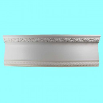 <PRE>Ornate Cornice White Urethane 2 3/4&quot; H </PRE>