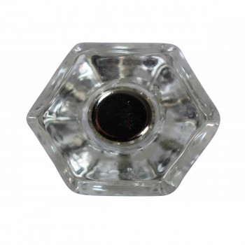<PRE>Cabinet Knob Clear Glass 1inch Dia W/ Chrome Screw </PRE>zoom3