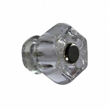 <PRE>Cabinet Knob Clear Glass 1inch Dia W/ Chrome Screw </PRE>zoom1