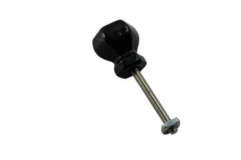 <PRE>Cabinet Knob Black Glass 1inch Dia W/ Chrome Screw </PRE>zoom2