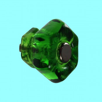 <PRE>Cabinet Knob Forest Green Glass 1inch Dia W/ Chrome Screw </PRE>zoom2
