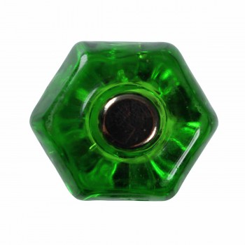 <PRE>Cabinet Knob Forest Green Glass 1inch Dia W/ Chrome Screw </PRE>zoom3