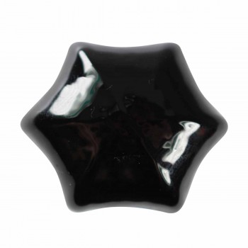 Cabinet Knob Black Glass 1 14 Dia W Brass Back Cabinet Hardware Cabinet Knobs Cabinet Knob