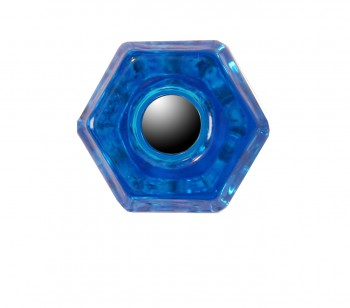 <PRE>Cabinet Knob Peacock Glass 1 1/4inch Dia </PRE>zoom3
