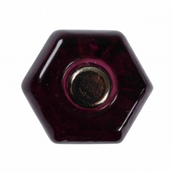 Cabinet Knob Amethyst Glass 1 Dia Cabinet Hardware Cabinet Knobs Cabinet Knob