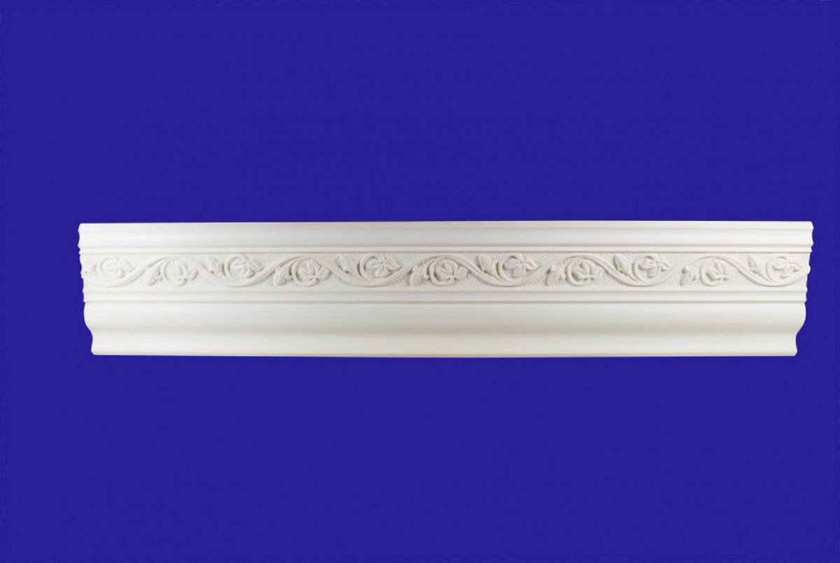Cornice White Urethane Sample of 11168 24 Long Cornice Cornice Moulding Cornice Molding