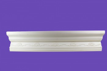 <PRE>Cornice White Urethane Sample of 11169 23.5inch Long </PRE>zoom8