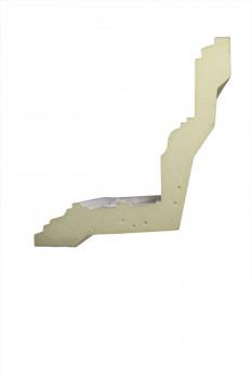 Cornice White Urethane 3 34 H Sebastienne Ornate Cornice Cornice Moulding Cornice Molding