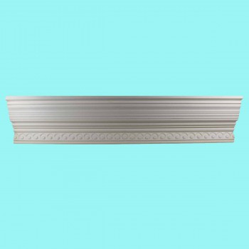 <PRE>Cornice White Urethane Sample of 11177 23.5&quot; Long </PRE>