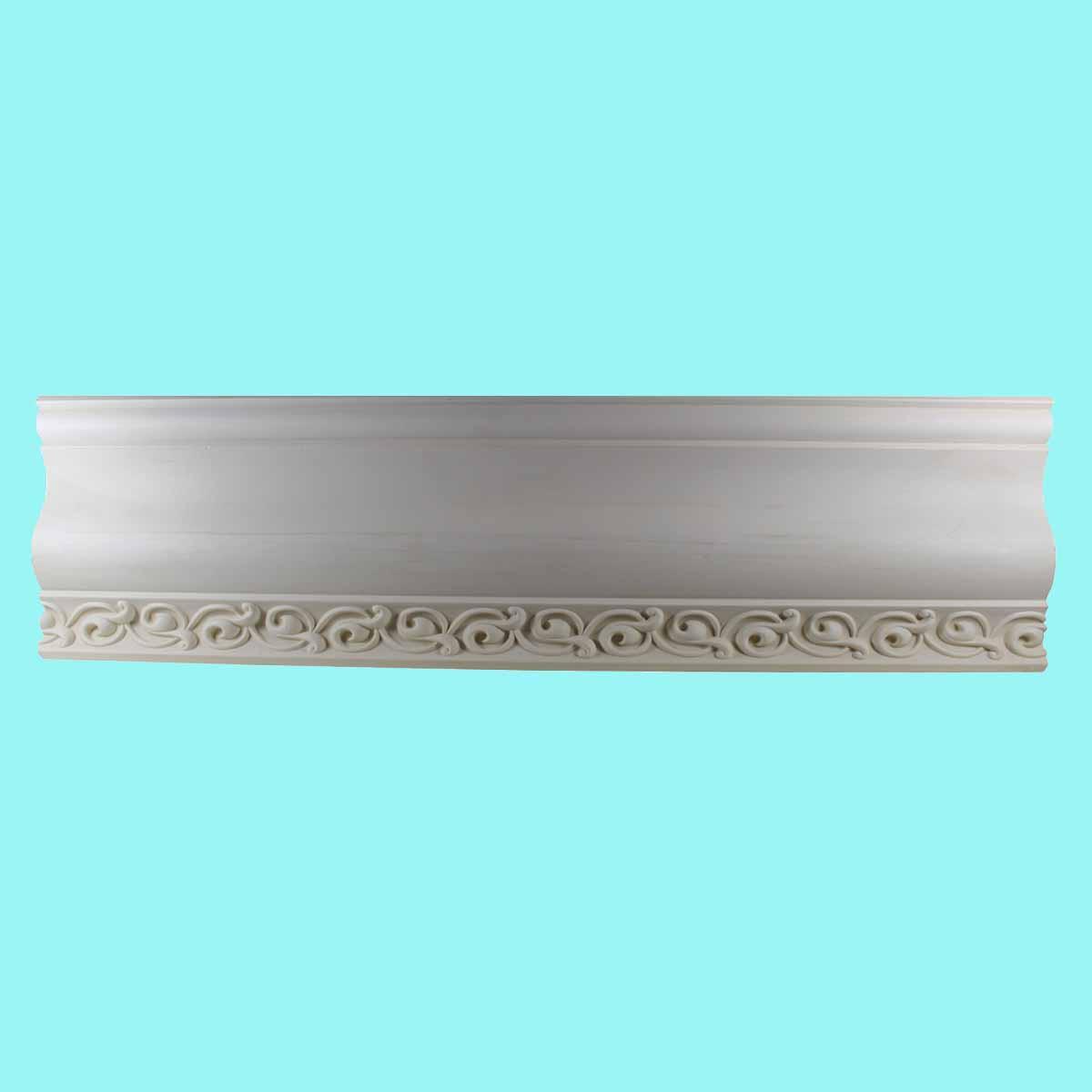 Cornice White Urethane Sample of 11179 23.5 Long Cornice Cornice Moulding Cornice Molding