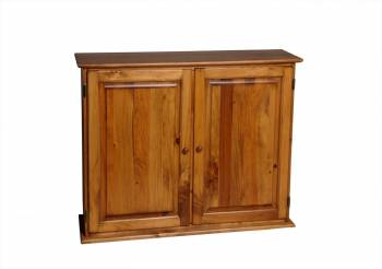 Shelf Honey Solid Pine Classic Secretary Desktop Kit Honey Pine 39 in.111814grid
