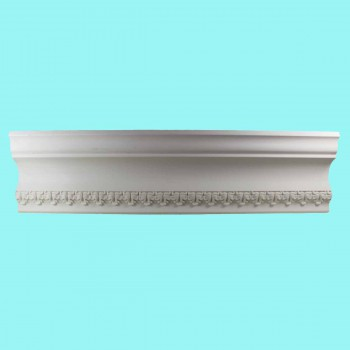 "spec-<PRE>Cornice White Urethane Bishop's Waltham Ornate  94"" L  </PRE>"