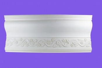 <PRE>Cornice White Urethane Sample of 11186 </PRE>zoom8
