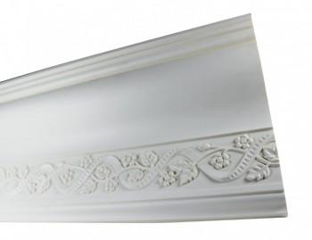 White Urethane Foam Ornate Camberley Cornice Cornice Cornice Moulding Cornice Molding