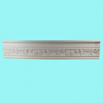 "spec-<PRE>Ornate Cornice White Urethane 2 1/4"" H Edenbridge </PRE>"